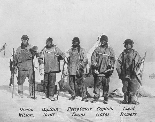 the polar party at the south pole