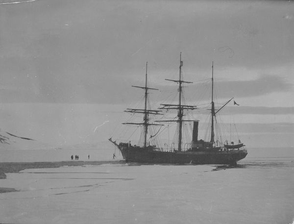 terra nova arriving at discoverys winter quarters
