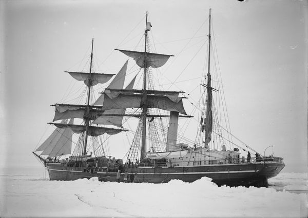 the terra nova held up in the ice december