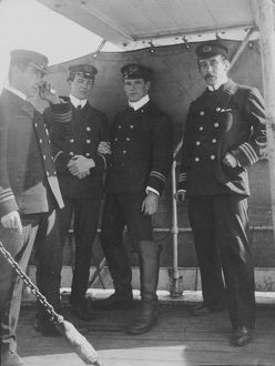 Capt Colbeck and Officers of the 'Morning'