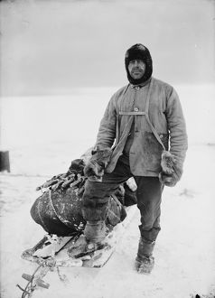 Captain Robert Falcon Scott. April 13th 1911