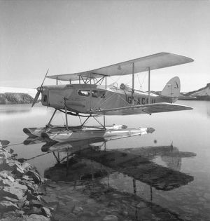 De Havilland Moth biplane, Stella Creek, 25 February 1936