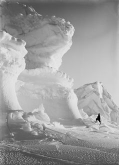 Huge Ice bastion of the Castle Berg. September 17th 1911