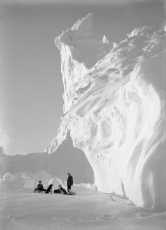Under the Ice of the Castle Berg. September 17th 1911