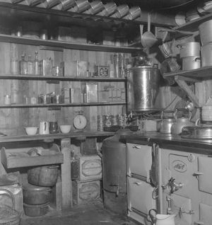 Kitchen, Argentine Islands hut