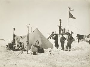 imperial trans antarctic expedition 1914 17/look out established ocean camp