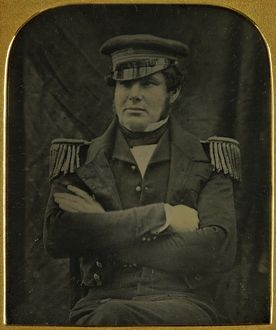 british naval northwest passage expedition/portrait lt james fairholme
