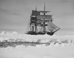 The Terra Nova held up in the pack ice. December 13th 1910