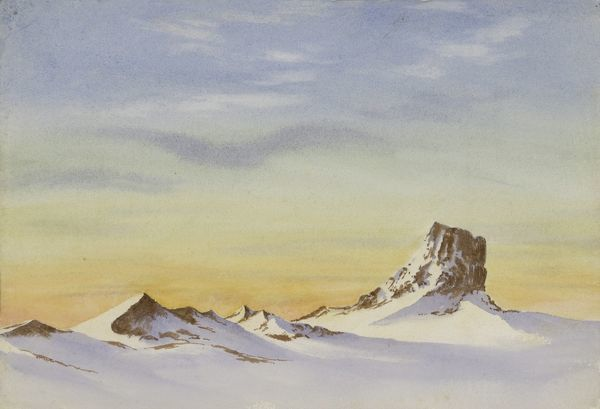 looking nw castle rock mount erebus 3 august 1903