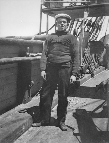 Unidentified seaman. Scottish National Antarctic Expedition 1902-04