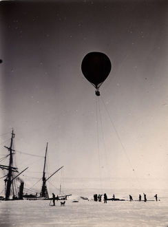 british national antarctic expedition 1901 04/balloon