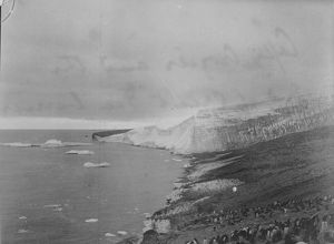 antarctic relief expeditions 1902 04/cape crozier end great ice barrier