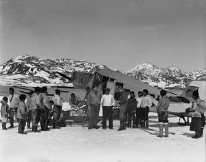 british arctic air route expedition 1930 31/departure junkers base