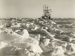 imperial trans antarctic expedition 1914 17/endurance fast sea ice