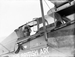 british arctic air route expedition 1930 31/iliffe cozens moth