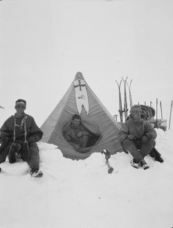 british antarctic expedition 1910 13 terra nova/debenham/levicks party camp