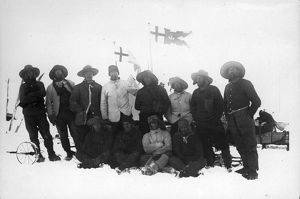 british national antarctic expedition 1901 04/main western sledging party