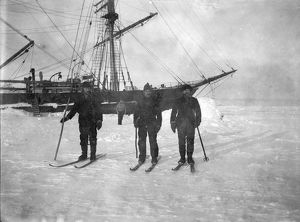 scottish national antarctic expedition 1902 04/mates skis winter quarters second steward