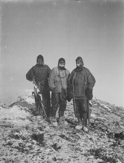 british antarctic expedition 1910 13 terra nova/debenham/mount erebus summit