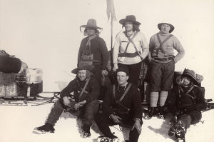 british national antarctic expedition 1901 04/royds barrier sledge party
