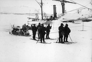 british national antarctic expedition 1901 04/sledge party south west