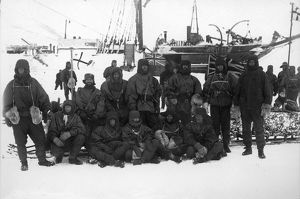 british national antarctic expedition 1901 04/southern depot sledge party